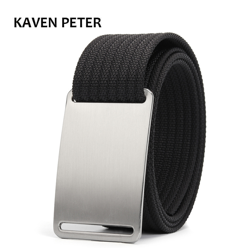 Luxury Men Belt Canv