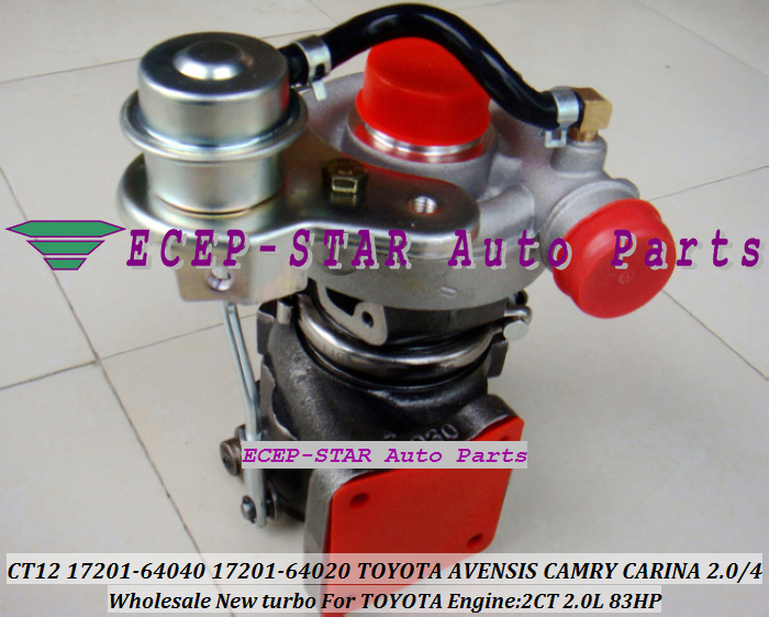 CT12 17201-64040 17201-64050 17201-64020 17201 64050 Turbo For TOYOTA AVENSIS CAMRY CV10 Town ACE TownACE CR30 2CT 2C-T 2C 2.0L 3eb10047 2c