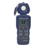Портативный формальдегида CH2O детектор газа влажность тестер точность 0 ~ 4.00ppm 0-5.00 мг/m3 формальдегида Air Quality мониторы метр