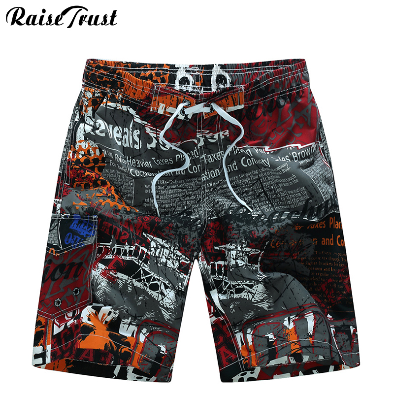Men's Shorts Mens Summer Beach  Beach Shorts  Men Boardshorts Man  Board Short Pants 2018 Quick Dry Silver Casual Shorts