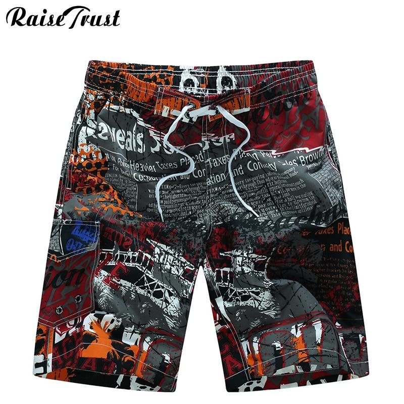 Men's Shorts Mens Summer Beach  Beach Shorts  Men Boardshorts Man  Board Short Pants 2018 Quick Dry Silver Casual Shorts