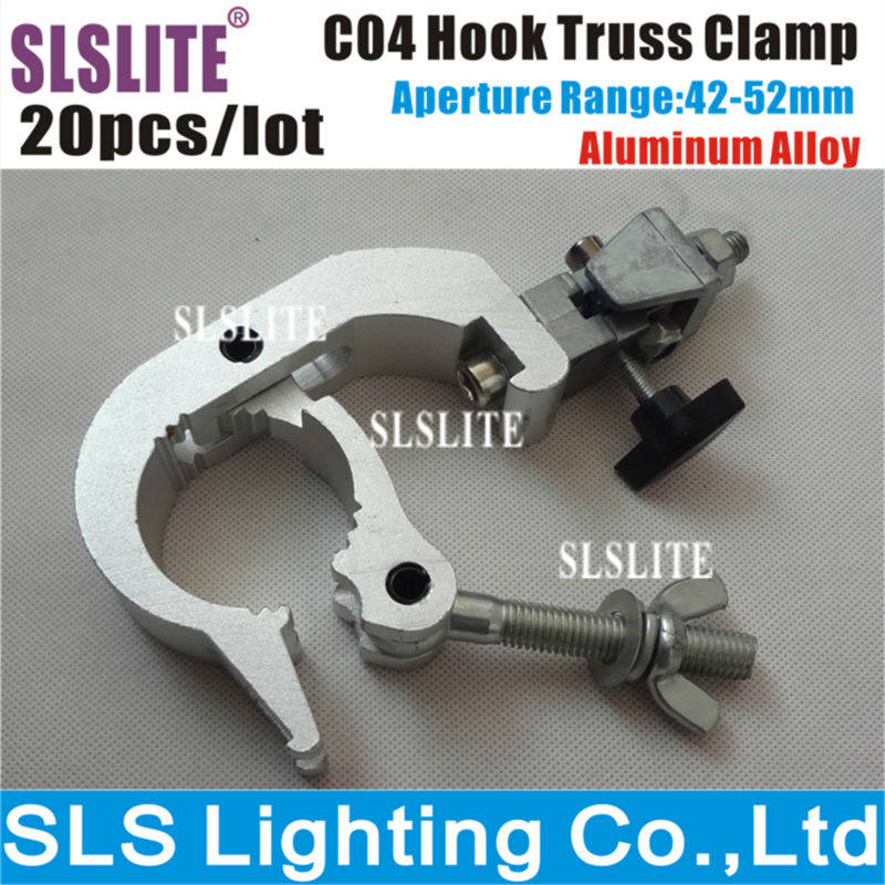 20PCS/LOT 06A Aluminum Adjustable Clamp, Stage Light Clamp/G clampSLS-C04