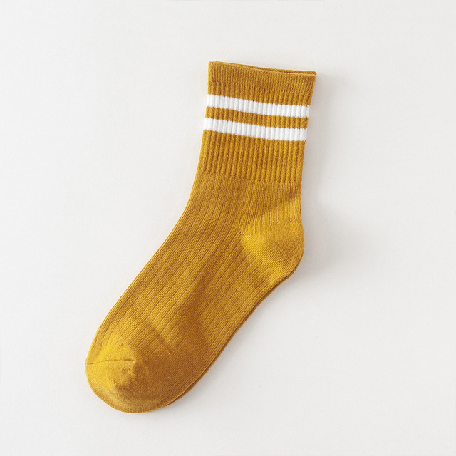 Women's Striped Cotton Socks