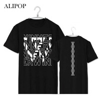 ALIPOP KPOP WINNER EXIT MinHo Japan Album Shirts K POP Casual Cotton Clothes Tshirt T Shirt