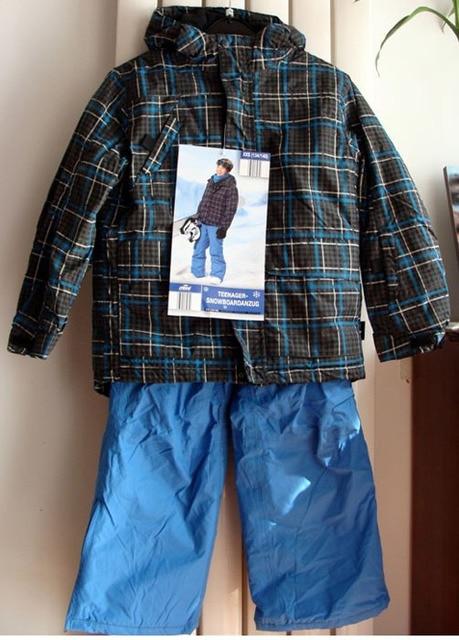 742555ec8 10-18 yrs Big boys ski suit Germany Brand 2pcs winter clothes set  waterproof windproof kids snowsuit roupas meninos