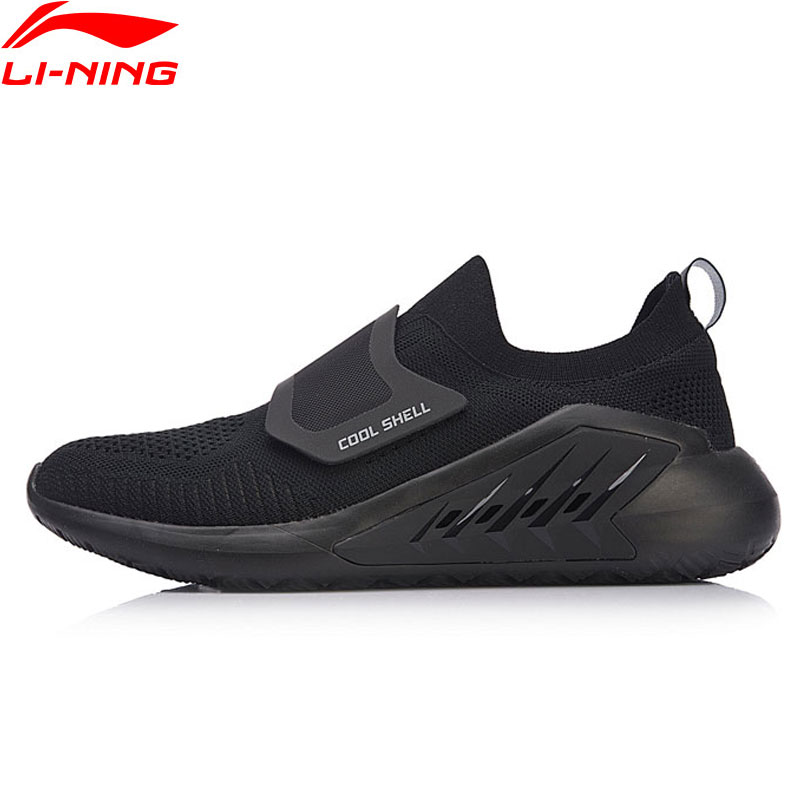 Li Ning Men EXTRA Walking Shoes Stylish Breathable LiNing Mono Yarn Sports Shoes Cushion Comfort Sneakers