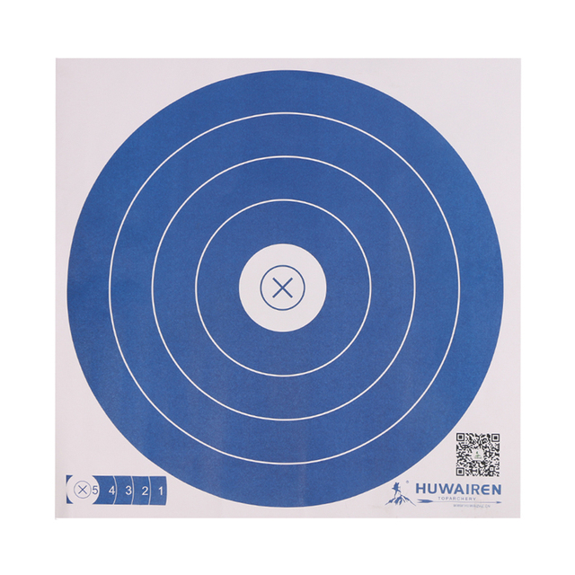 Free shipping 20pcs/lot archery bow and arrow shooting target papers 5 circle diameter 40cm round slingshot shooting target-in Bow & Arrow from Sports & Entertainment on Aliexpress.com | Alibaba Group