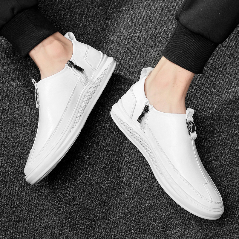 Full Grain Leather Men Loafers High Quality Soft Breathable Men Flats Shoes Handmade Outdoor Casual Shoes Men in Men 39 s Casual Shoes from Shoes