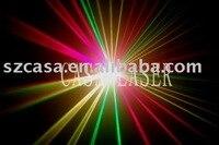 Vollfarbe 270 mW Green + Red + Violet disco laser beleuchtung zeigen system