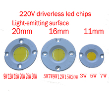 New driverless PCB 10w Round COB LED ceiling lamp own light LED Chip Light Lamp White Warm White cold white manfrotto nx gray mb nx bp gy