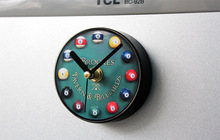 New Billiard Design Snooker Kitchen Refrigerator Fridge Magnets Portable Wall Clock Arabic Numeral  Magmatic Clock  Sport Style