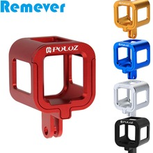 Aluminum Alloy Protective Case for Gopro Hero 4 Session Metal Housing Cage for goPro Hero 4S Action Cameras стоимость