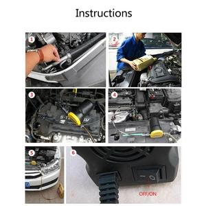 Image 4 - Onever Car Electricity Oil Extractor Transfer Pump 12V 5A Mini Fuel Engine Oil Extractor Transfer Pump for Diesel Gasoline
