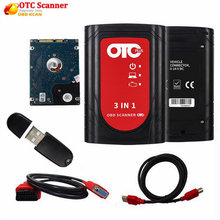 Professionale obd2 scanner automotive IT3 V14.10.028 Globale Techstream OTC Plus 3 in 1 OBDII OTC strumento di diagnostica auto Scanner