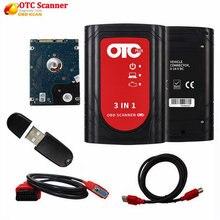 Profissional obd2 scanner automotivo it3 v14.10.028 global techstream otc mais 3 em 1 obdii otc scanner ferramenta de diagnóstico do carro