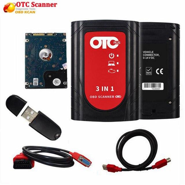 전문 obd2 자동차 스캐너 IT3 V14.10.028 글로벌 Techstream OTC 플러스 3 1 OBDII OTC 스캐너 자동차 진단 도구