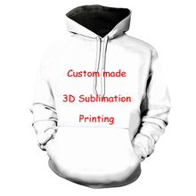 3D Print DIY Custom Design Mens Womens Clothing Hip Hop Swea