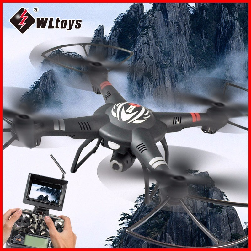 Original WLtoys Q303 RC Helicopters 5.8G FPV HD Camera 4CH 6-Axis Gyro RTF RC Quadcopter Toy VS Hubsan H501S Cheerson CX-20 10pcs lot cx 10 3 7v 100mah battery for cheerson cx 10a fq777 124 wltoys v272 v282 v292 hubsan q4 h111 mini rc quadcopter parts