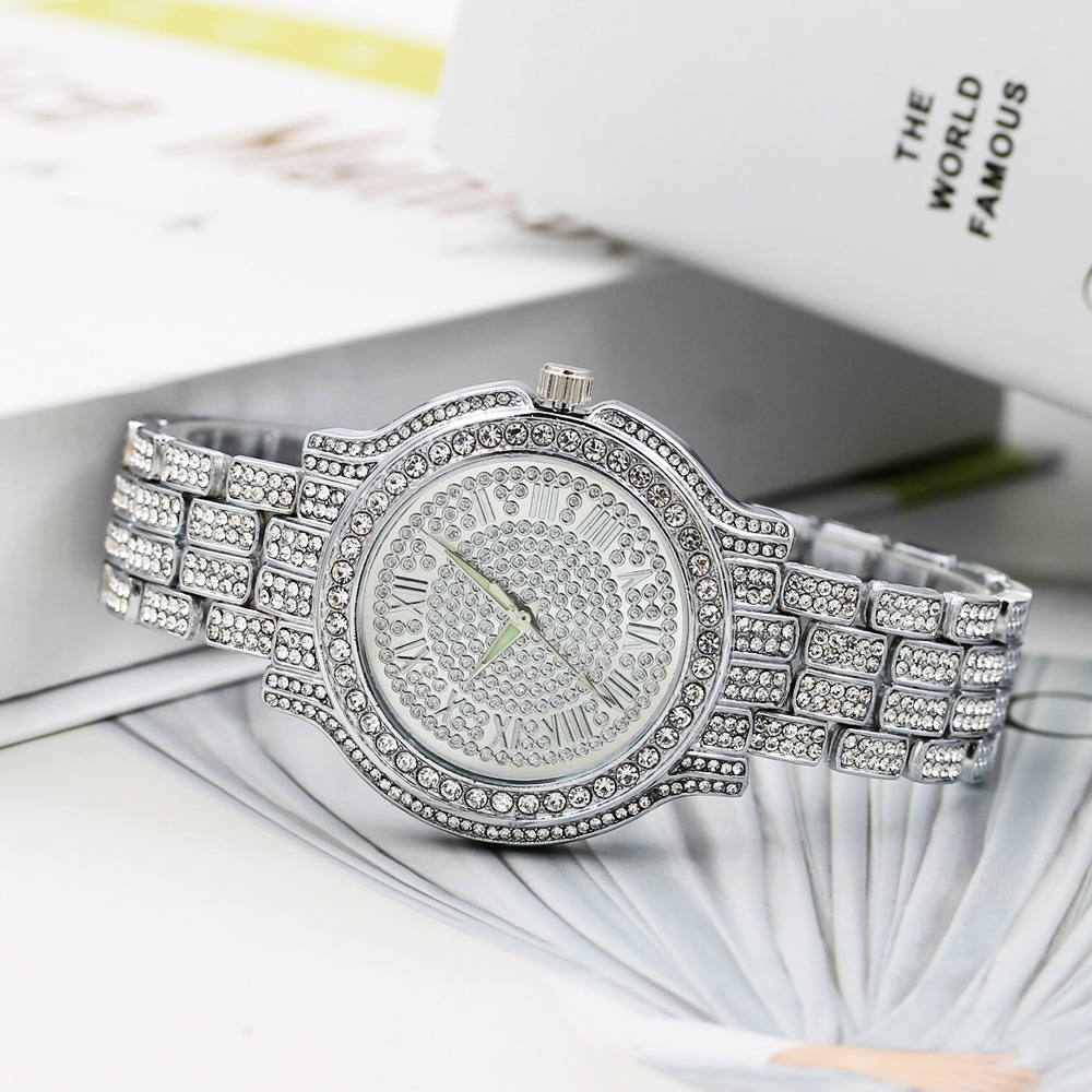 Classic Luxury Rhinestone Watch Women Watches Fashion Ladies Watch Women's Watches Clock Relogio Feminino Reloj Mujer (1)