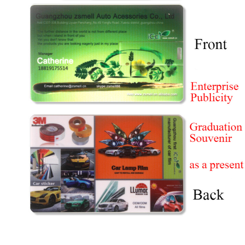 New Real Capacity Credit Card Model 32GB Business Team Card Usb Flash Memory Stick Flash PenDrive