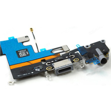 New Charger Port Dock USB Connector Flex Cable For iPhone 6 4.7 inch Headphone Audio Jack Flex Ribbon Replacement стоимость
