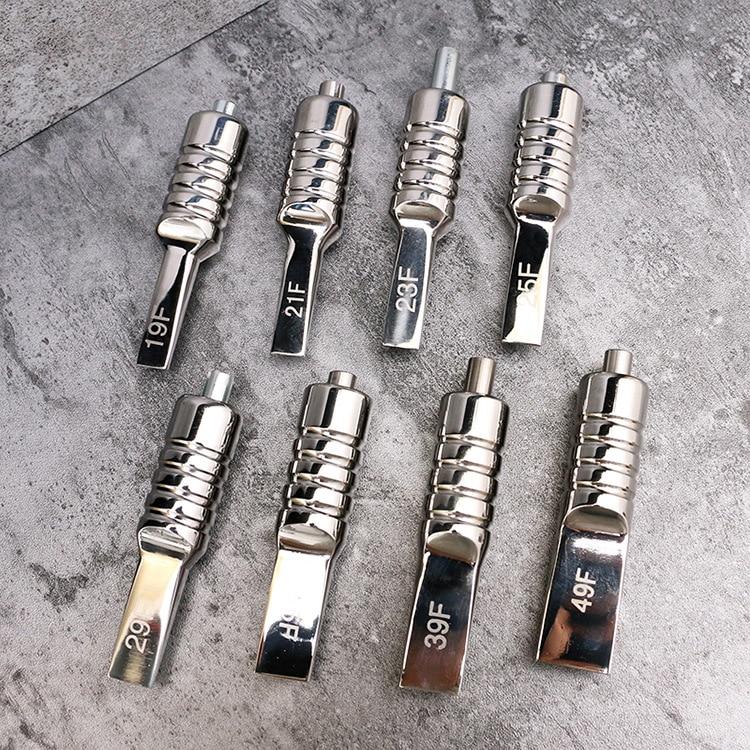 Hot Item Tattoo Equipment Tattoo Handle 19F 21F 23F 25F 29F 35F 39F 49Fstainless Steel Tattoo Row Handle Stainless Steel One Han