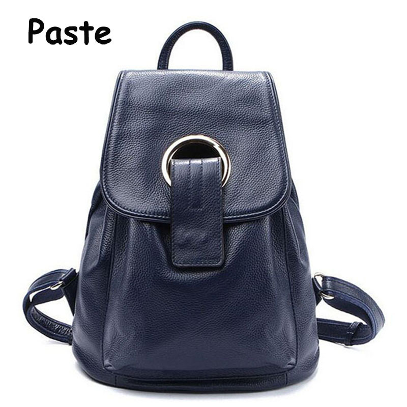 New Fashion Brand Women Bag Genuine Leather Backpack Classical Black Luxury Girl School Backpacks Bags Travel Women's Backpack brand bag backpack female genuine leather travel bag women shoulder daypacks hgih quality casual school bags for girl backpacks