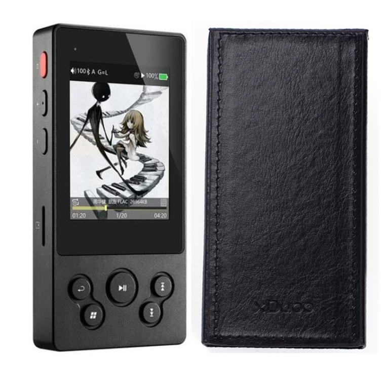 XDUOO X3II X3 II with Leather case AK4490 Bluetooth Portable HD Lossless Music Player DSD128/Bi directional USB port DAC-in HiFi Players from Consumer Electronics    1