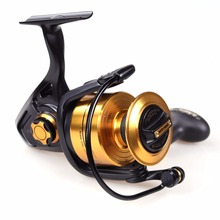 100% Original PENN SPINFISHER V Spinning Reel Full Metal Body Spinning Reels for Sea Fishing 6 Bearings Water Tight Fishing Reel