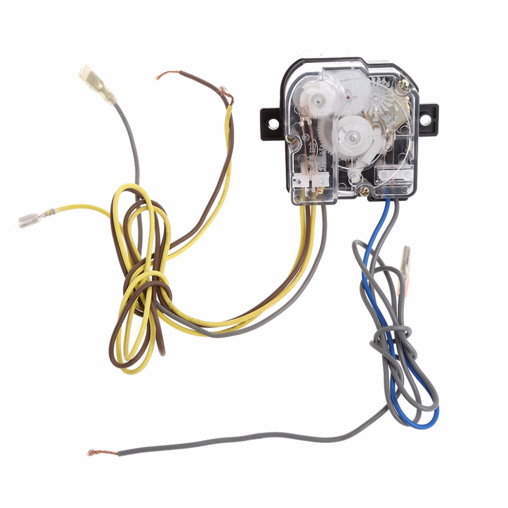 6-Wire Washing Machine Timer 90 Degree Central Hole Distance 68mm Switch Shaft