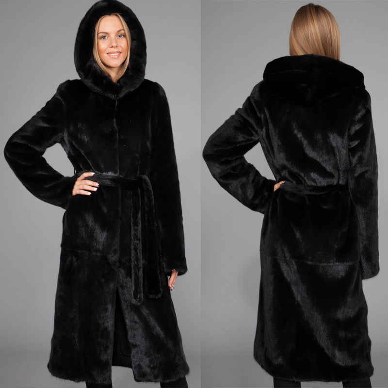 Women's 2016 Winter Fur Coat Overcoat Female Outerwear Artificial ...