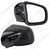 Черный мотоцикл зеркало левая и правая сторона зеркала заднего вида для BMW K1200LT K1200M 1999 2004 2005 2006 2007 2008 Retroviseur Moto
