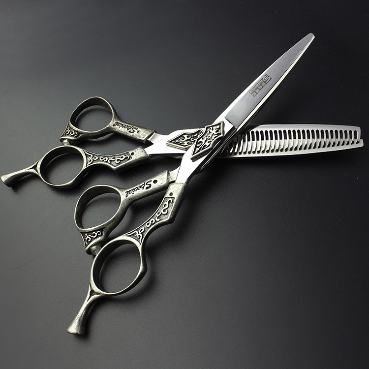 6 inch sharp hairdressing shears hair scissors set barber tool for hair salon professionals for hairdresser to make coiffure 6 inch sharp hairdressing shears hair scissors set barber tool for hair salon professionals for hairdresser to make coiffure