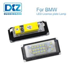 DXZ 2Pcs LED Number License Plate Lights Lamp Bulb 6500K 18 SMD for BMW E46 4D (98-05) 323i 325i 328i 99-03 330xi 330i 325xi