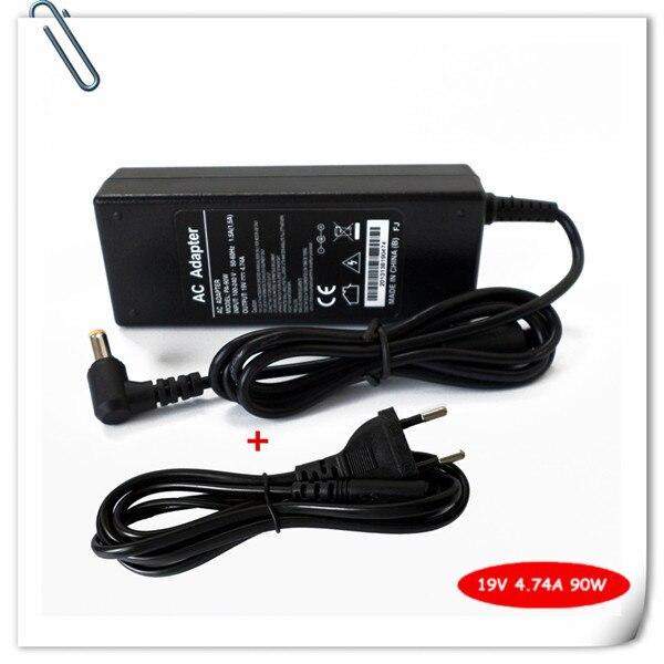 Ноутбук адаптер переменного тока шнур питания для Acer Aspire 5750 5750 г 5755 5755 г 6920 6920 г 6930 г ноутбук зарядное устройство 19 В 4.74A