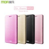 Для Xiaomi Mi A1 чехол MOFI Xiaomi Mi 5X откидной Чехол из ПУ кожи флип чехол полное покрытие для Xiaomi Mi 5X чехол funda coque 5,5''
