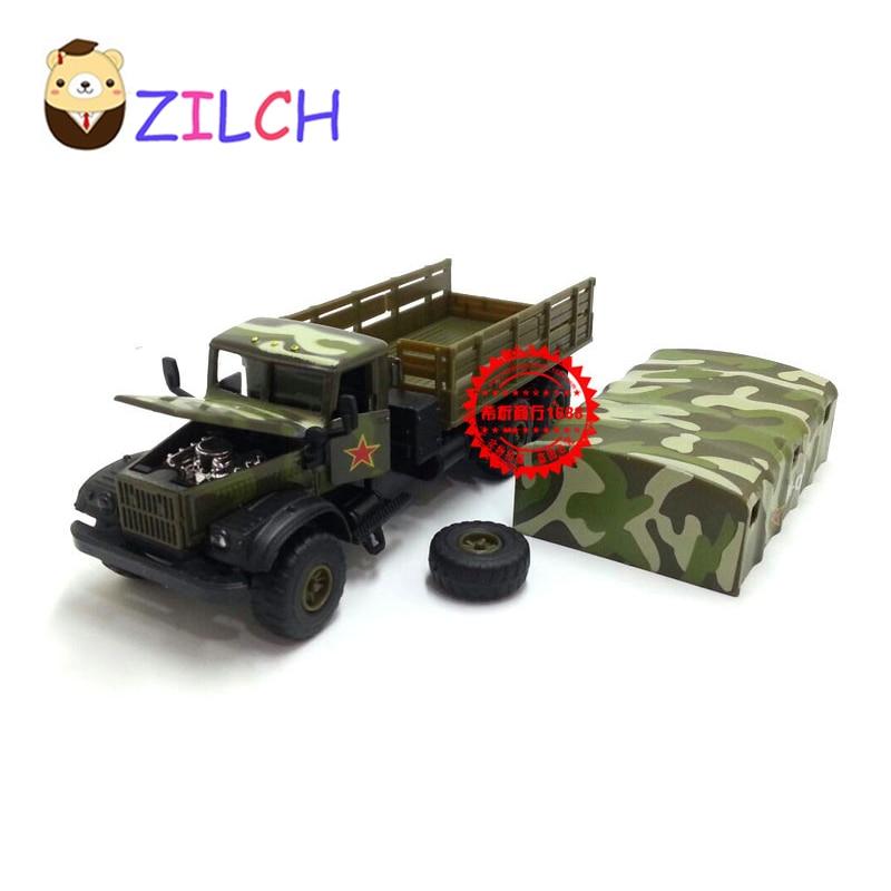 1:43 ruso militar transporte tropas aleación coche modelo en caja original pull back muical intermitente juguete para niños