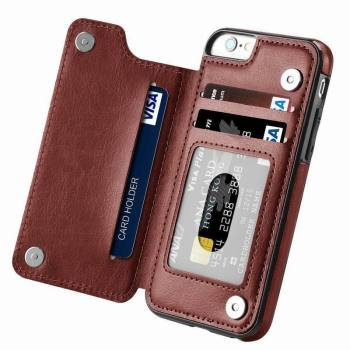 iPhone Leather Flip Case  1