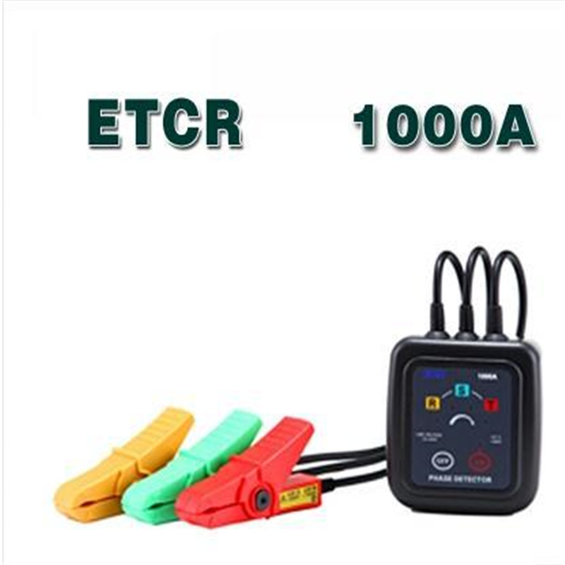 ETCR1000A Non Contact 3 Phase Rotation Tester Indicator Detector  цены