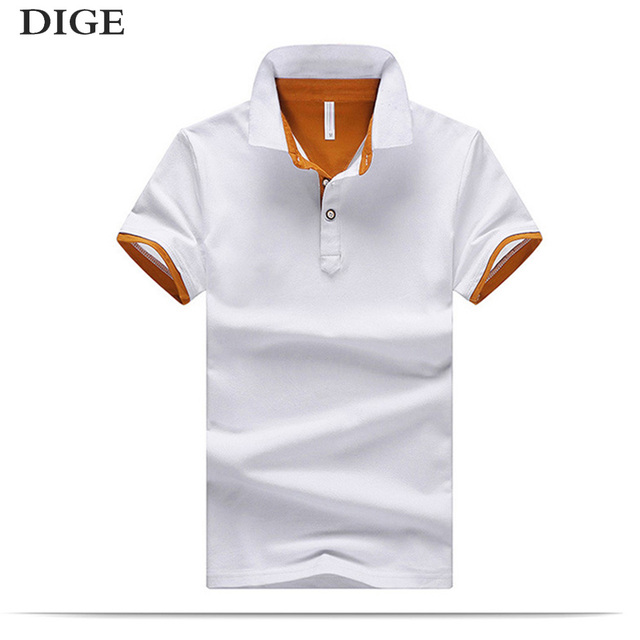 2b3ca79c6d New 2018 Men s clothing New Men Polo Shirt Men Business   Casual Solid male  Polo Shirt Short Sleeve breathable Polo Shirt B0255
