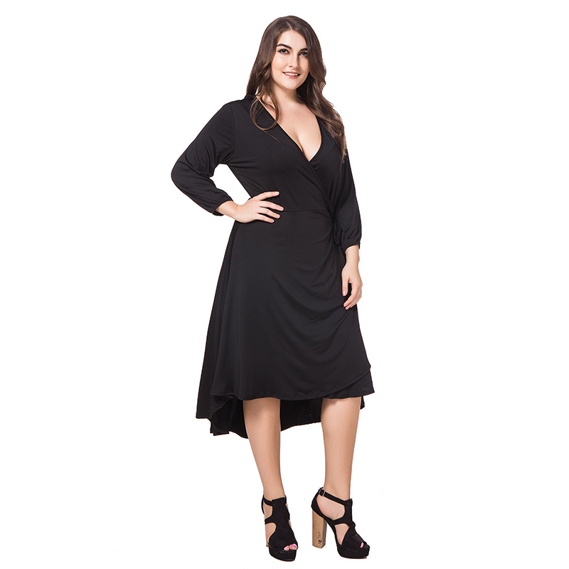 Long Formal Dresses Black Adjustable Plus Size Dress Form In Dresses