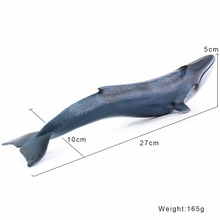 Wiben Sea Life Blue Whale Toys Simulation Animal Model Action & Toy Figures Classic Toys For Children Animal Model Collection