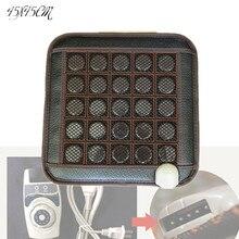 Лидер продаж продукции с подогревом отрицательных ионов матрас Корея отопления подушки офис и дома, стул используется 45*45 см