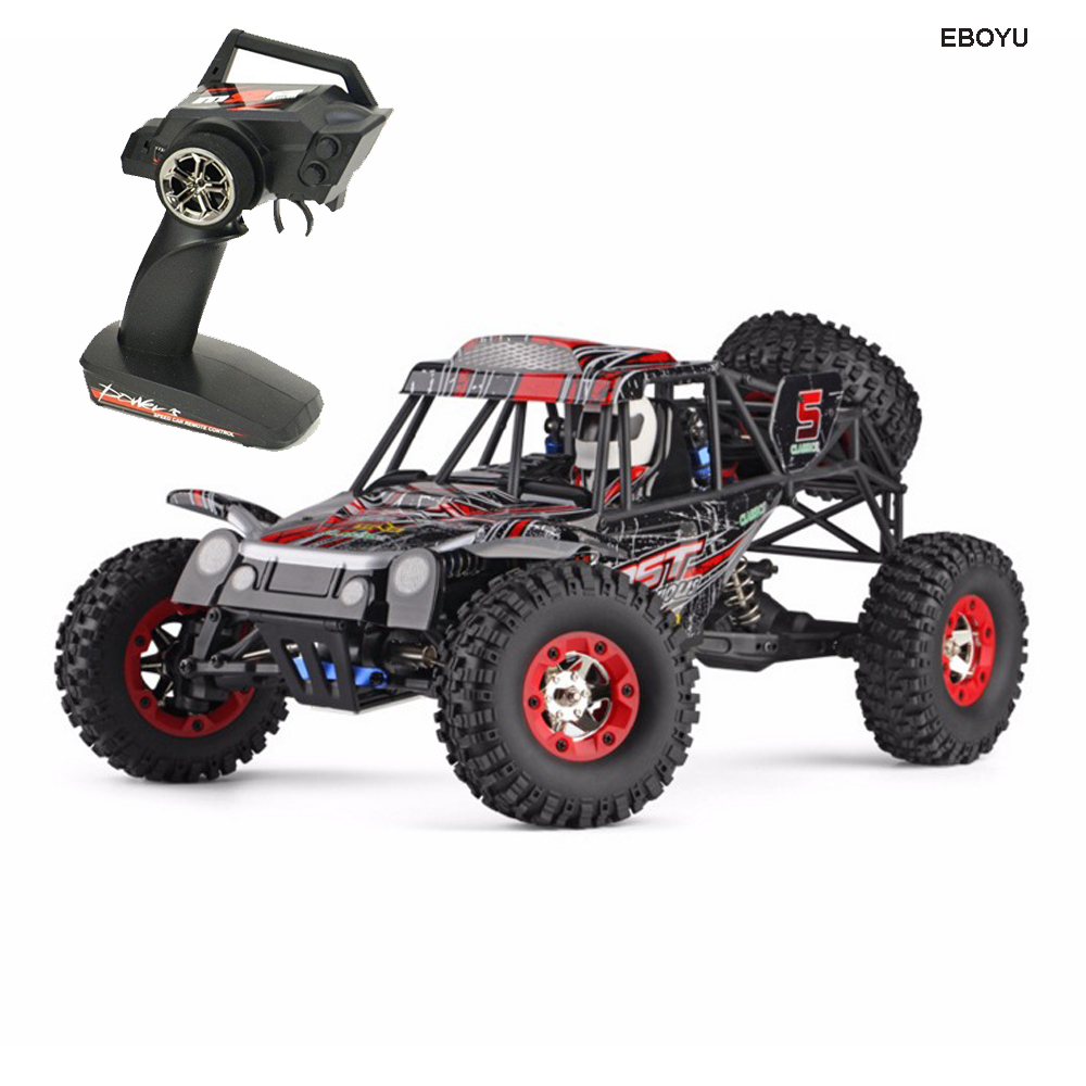 WLToys 12428C 2.4 Ghz 50 KM/H Veículo Off-Road de Brinquedo Controlado Por Rádio Do Carro Bat 1/12 Proporção RC Caminhão 4WD alta Velocidade de Carro de Corrida