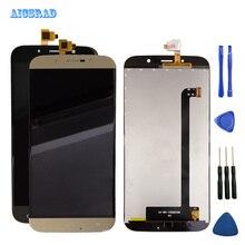 AICSRAD 5.5 סנטימטרים עבור UMi רומא X LCD תצוגת Digitizer עצרת החלפת תצוגת LCD Smartphone תיקון חלקי romex + כלים