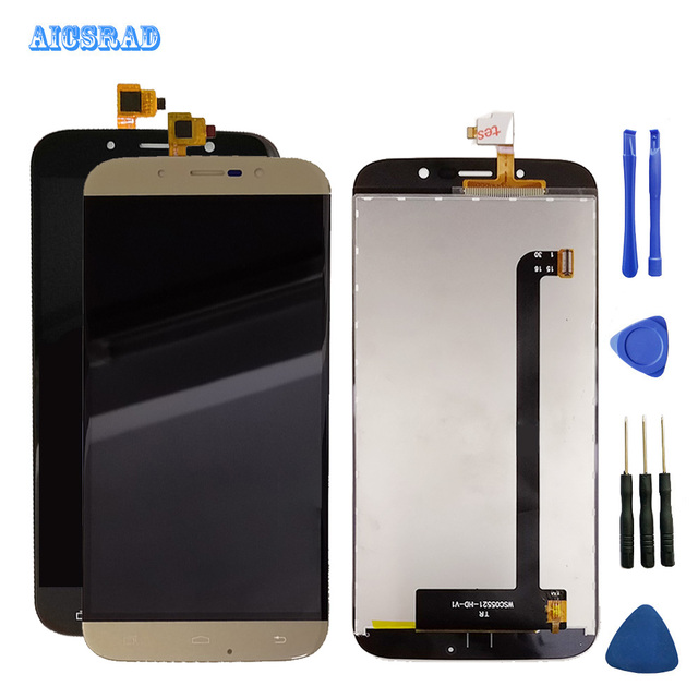 AICSRAD 5.5inches  For UMi Rome X LCD Display Digitizer Assembly Replacement LCD Display Smartphone repair parts romex  +tools