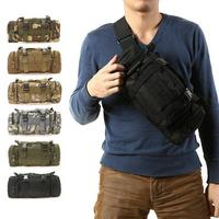 TECHWILL 3L Climbing Bags Outdoor Military Tactical Waist Pack Molle