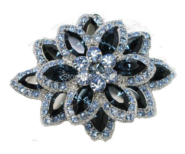 Marquiese Crystal and Rhinestone Diamante Wedding Flower - Նորաձև զարդեր - Լուսանկար 5