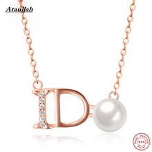 ФОТО ataullah real pearls letter shell gold plated freshwater pearls 925 silver pendants women christmas gift necklaces nwp438
