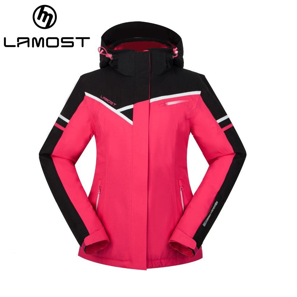 Prix pour LAMOST snowboard veste femmes hiver ski vestes avec capuche veste de ski vêtements haut de neige snowboard vestes de ski femmes